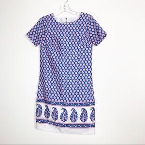 J.CREW stunning print dress Petite size 00